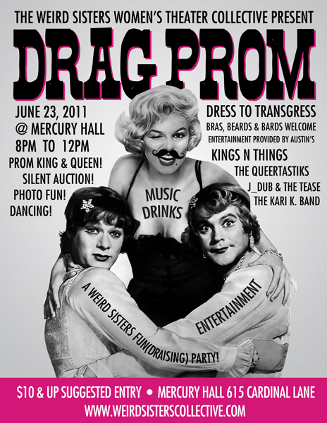 Weird Sisters Drag Prom