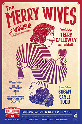 The Merry Wives of Windsor with Austin Scottish Rite Theater